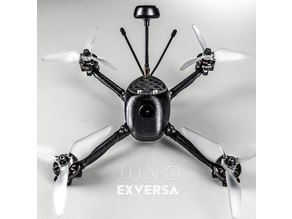 Exversa Juno 6mm Carbon Mini Quad - No Shell