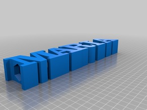 My Customized TEXT pencil holder M