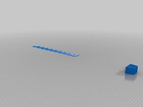 My Customized Parametric (21-30) Radius Gauge