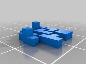 3x3 puzzle box