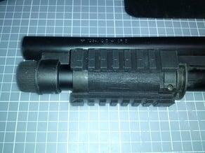 RAS fore end for Tokyo Marui M870 Breacher airsoft shotgun