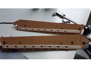 Taigen/Torro metal lower hull Panther - suspension arms backlash reducer