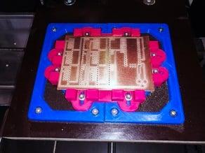 Leiterplatte / PCB Halterung für CNC