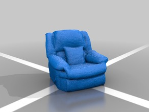 Recliner Chair - 3D Scanned
