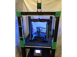 Ikea Lack Printer Enclosure - Magnetless Remix All-in-One