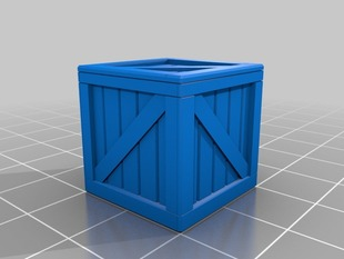 Crate prop for DnD