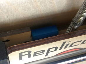 Z-Axis offset clip for Replicator 1