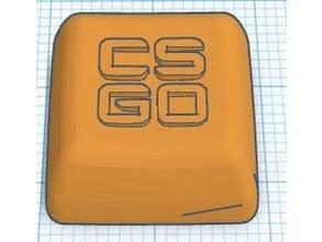 cs go key cap logo