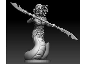 Medusa/Gorgon Miniature