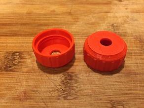 Bottle Cap with Hole