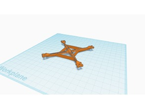Micro quad with 16x16mm flight controller