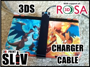 New 3DS XL Charging brace/cable