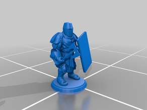 Basic Tower Guard - Battle Axe