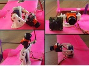 Super Compact + Tilt Camera Mount fpv - 1 axis