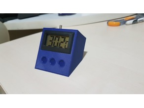 """1,5"""" Digital Thermometer Stand - Remix"""