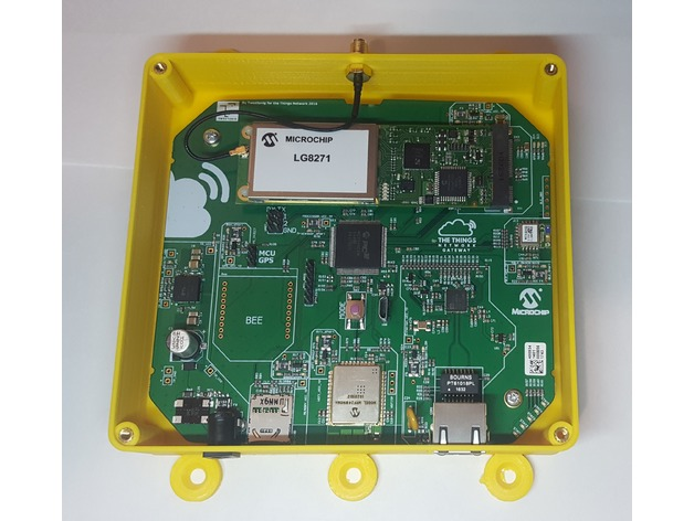 Alternative The Things Network (TTN) Gateway Enclosure by