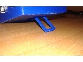 Arduino UNO case screwless with leg