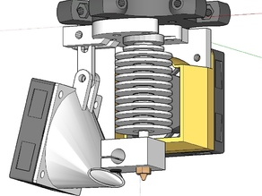 FolgerTech Kossel filament cooler mod.