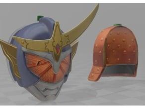 Kamen rider gaim orange helmet