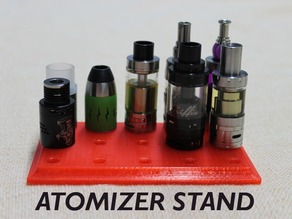Customizable Atomizer Stand
