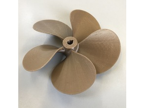 5 blade boat propeller