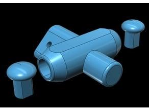 Ninebot MiniPro Street handlebar mount