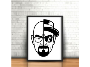 Walter White - Breaking Bad Wall 2D