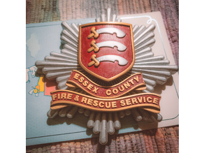 Essex County Fire Badge