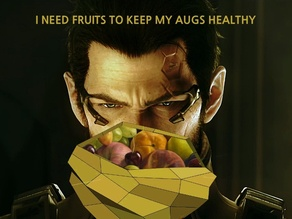 Adam Jensen's - I Never Asked For This - Fruit Bowl