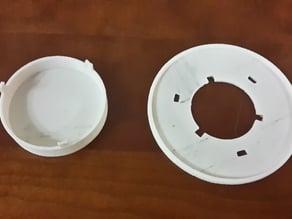 Pinball bumper cap