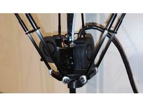 Anycubic Kossel turbine print cooler upgrade