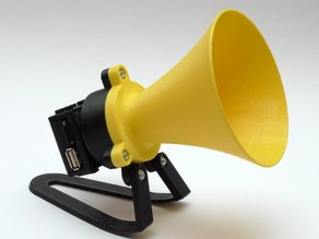 """Megaphone"" MP3 player"