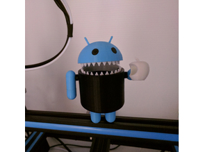 Toothy Android Hates Apple