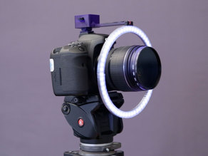 60 NeoPixel Ring Camera Mount