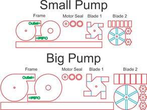Laser Cut Water Pump (Centrifugal)