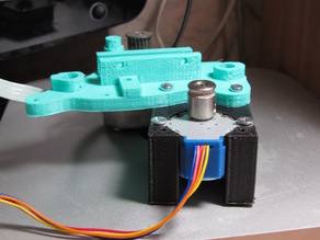 Adapter from motor 28BY-48 to motor 17HS