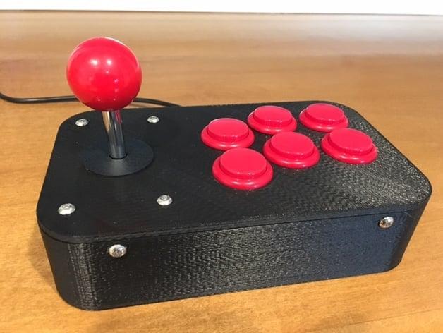Arcade Controller By Elkayem Thingiverse
