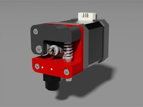 KIS extruder - direct drive Nema 17 & Mk8 for 1.75 filament