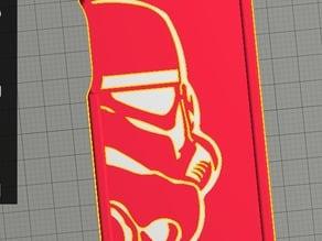 dual extrusion Stormtrooper iphone 5 case
