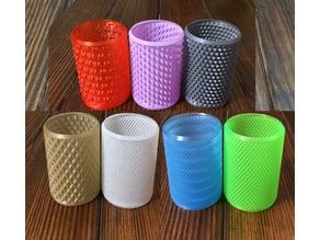 More Beer Cozies in Vase Mode