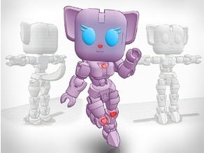 Kawaibot Kitty Tinkerplay (Thingmaker) Action figure [Ready for testing!]