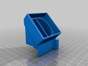 CR-10 / Ender Hotend Cover For Stock Fans/ Adapter 40x40