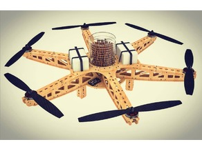 Reforestation Drone for aerial sowing: Dronecoria