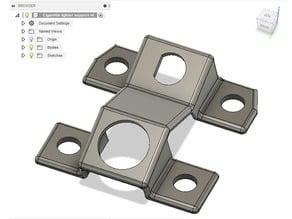 240z / Fairlady Z Dash Switch & Lighter support frame