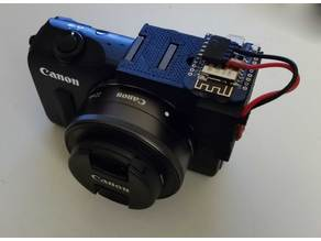 Canon EOS-M IR support with hot-shoe