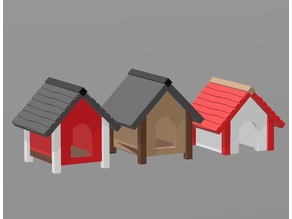 Doghouse H0 scale