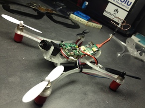 The Flying Squirrel Micro QuadCopter
