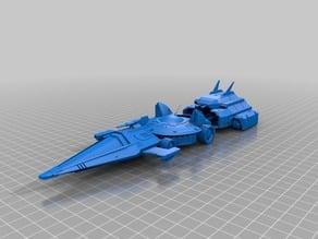 Ulysse 31 - 3 parts navette - starship interdit à la vente