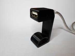 USB Verlaengerung Tischklemme / USB Extension Cable Deskclamp