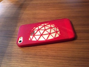 Geodesic Dome inspired iPhone 5 case